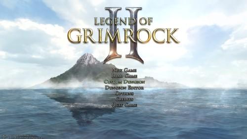 Legend of Grimrock 2 - The Main Menu