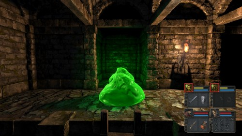 Legend of Grimrock 2 - Slimes