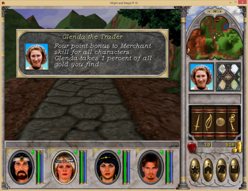 Might and Magic 6 - Hired Companion