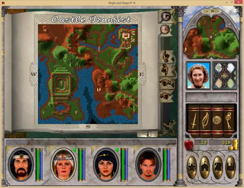 Might and Magic 6 - Explored Ironfist Area