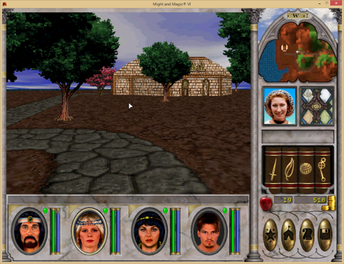 Might and Magic 6 - Temple of Baa