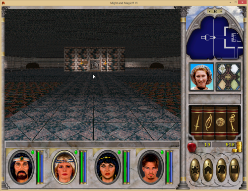 Might and Magic 6 - Huge Hall