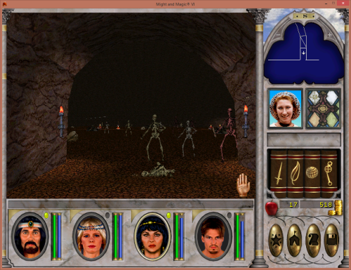 Might and Magic 6 - Skeleton Lord
