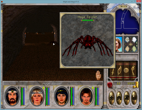 Might and Magic 6 - Spiders