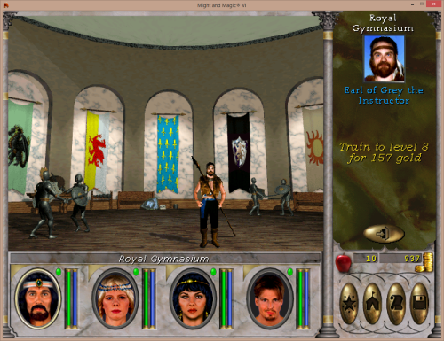 Might and Magic 6 - Training