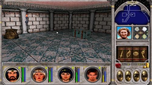 Might and Magic 6 - Treasure room