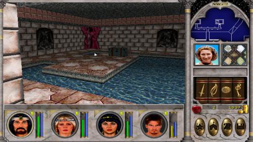 Might and Magic 6 - The Bathhouse
