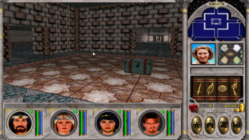Might and Magic 6 - Central Puzzle Room