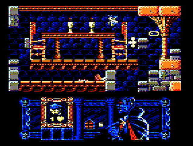 Phantomas 2 – Upcoming overhaul for the Amstrad CPC gets new footage – The Retro Gaming Treasury